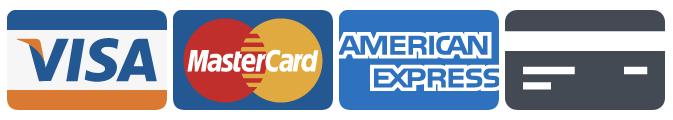 Cartes de crédit acceptées / Credit cards accepted