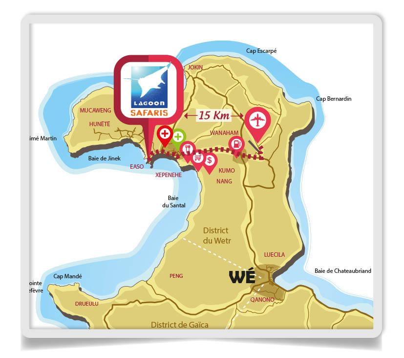 Lagoon safaris localisation